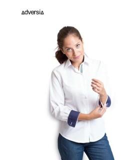 Comprar Blusa Calma combinada para mujer de manga larga. Adversia