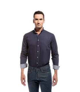 Comprar Camisa Altano combinada de hombre con manga larga. Adversia