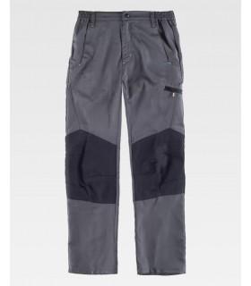 Comprar Pantalón B1460 combinado con refuerzo en rodillas. WORKTEAM