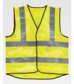 Chaleco HVTT20 de alta visibilidad, antiestático y protección contra llama. Workteam
