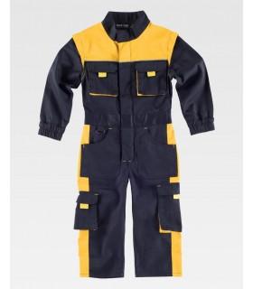 Comprar Buzo B1010 Combinado de niño, cremallera de nylon. Workteam