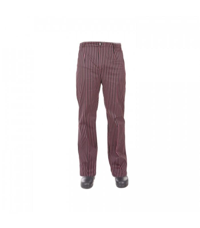 Pantalón 7772 estampado. Media cintura elástica. Fácil planchado. Garys