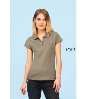 Comprar Polo PRESCOTT 11376 de manga corta para mujer. Sol´s