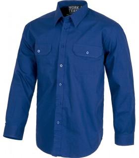 Comprar Camisa B8200 de manga larga con cierre de botones