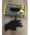 Guantes de nitrilo GRIP Black resistentes. Caja de 50 unidades. COVID-19