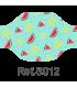 Mascarilla 120011S estampada para niño REUTILIZABLE de doble capa. Eurosaboy