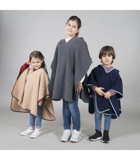 Comprar Poncho 3098 polar para niños. Covid19. Garys.