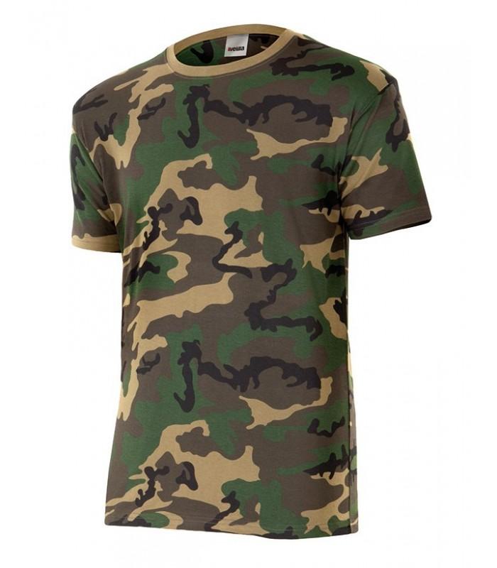11400c587ac Camiseta 506 de manga corta. camuflaje. velilla - Ropa Laboral