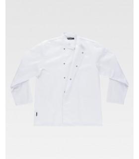Comprar Casaca b5902 cuello Mao de manga larga. Lavable a 65º. Workteam. COVID19