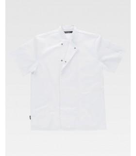 Comprar Casaca B5901 cuello Mao de manga corta. Lavable a 65º. Workteam. COVID19