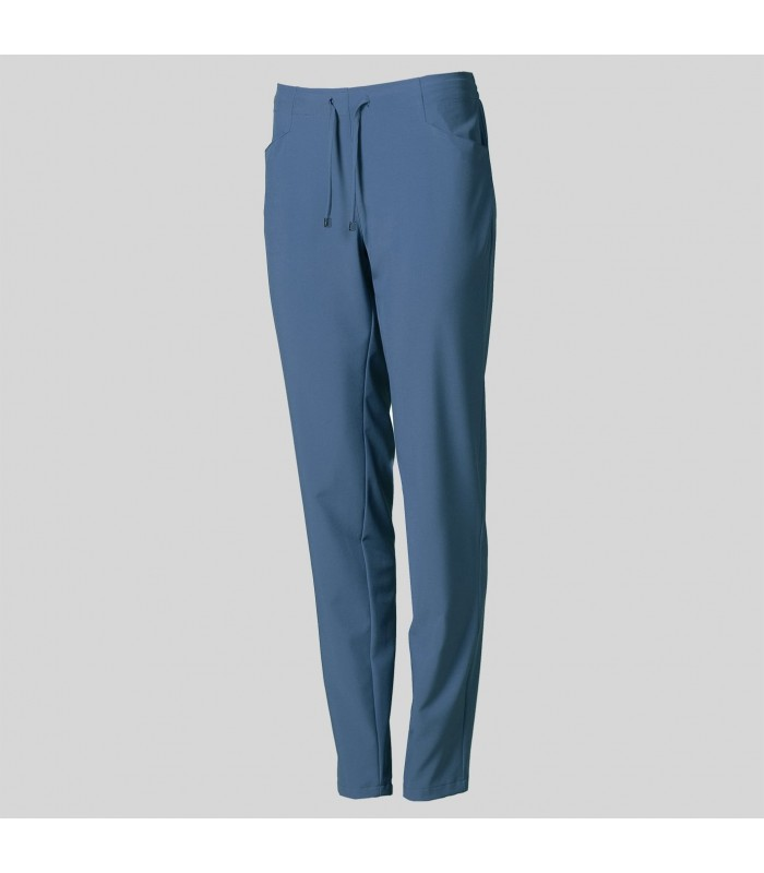 Pantalón 7048 de mujer de microfibra 360 con tratamiento SILVADUR. Garys
