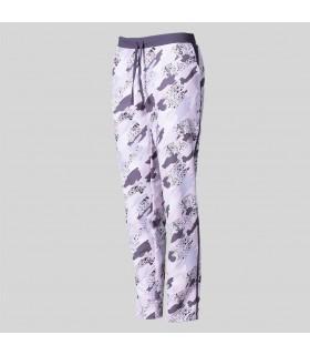 Pantalón 7037 de mujer estampado de Microfibra lisos. Garys