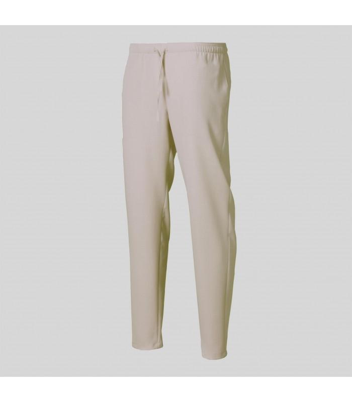 Pantalón 7049 Unisex de goma entera y cordón ajustable, con tejido X.LINEN. Garys