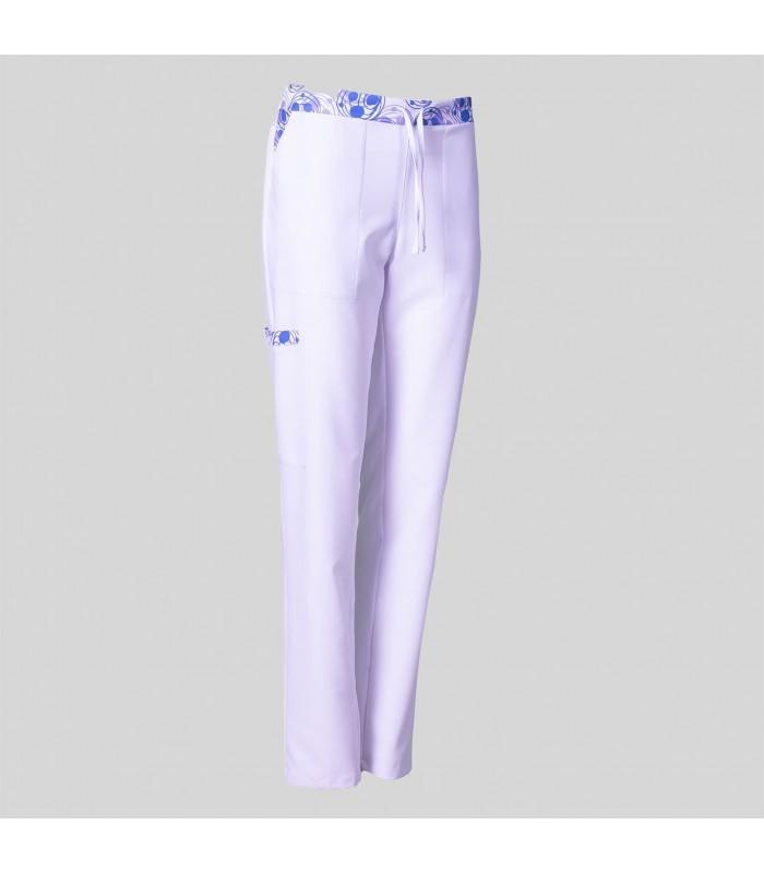 Pantalón 7044 de mujer estampado de Microfibra. Garys