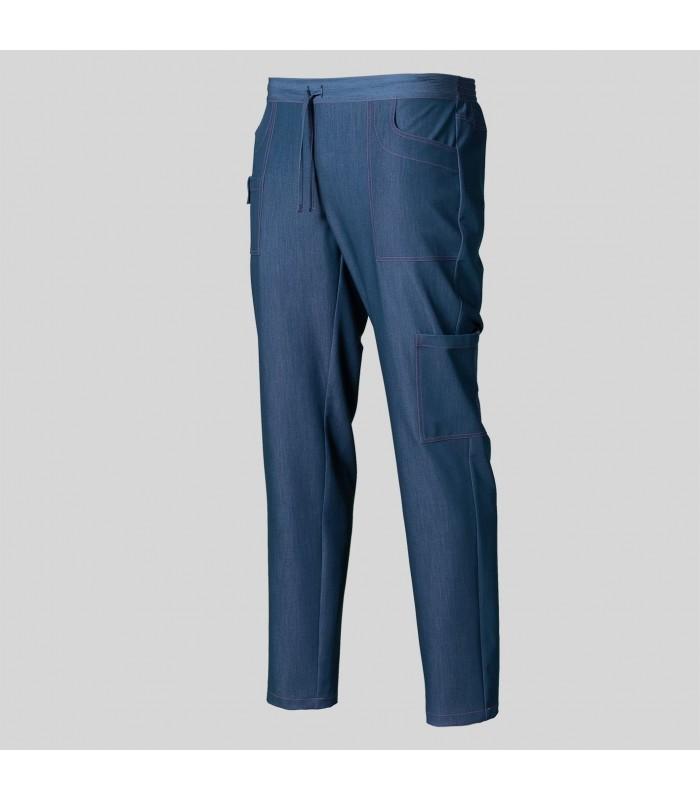 Pantalón 7038 Unisex de Tejano Persia con cintura elástica. Garys