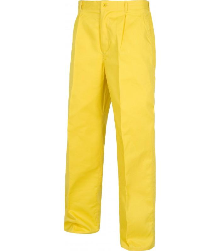 Pantalón B1402 recto. Elástico en cintura