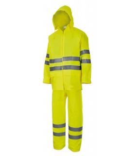 Comprar Traje de lluvia 189 Alta visibilidad. Con cintas reflectantes. Velilla