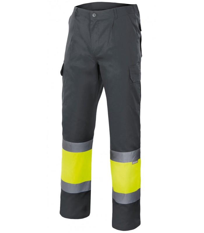 Pantalón 157 Alta visibilidad. Con cintas reflectantes. Velilla