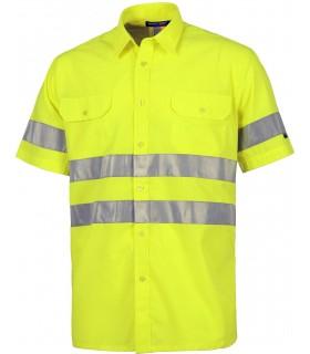 Comprar Camisa C3810 de manga corta. Cierre de botones