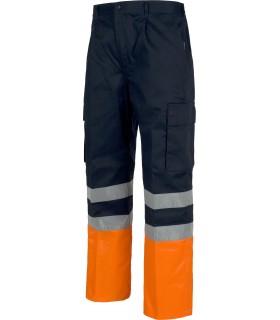 Comprar Pantalón C4014 recto, multibolsillos. Elástico en cintura