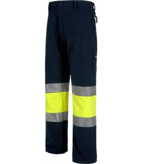 Comprar Pantalón S9820 con tejido Work Shell. Multibolsillos.