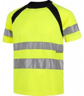 Comprar Camiseta C2941 de manga corta Alta Visibilidad. Sin bolsillos.  Workteam · zoom c6e9209d1ca34