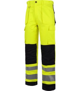 Comprar Pantalón C2912 de alta visibilidad. Reflectante. Multibolsillos. Workteam