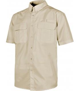 Comprar Camisa B8510 de manga cprta. Rejilla en la espalda. Workteam