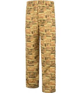 Comprar Pantalón B1503 recto. Antimanchas. Elástico en cintura. Workteam