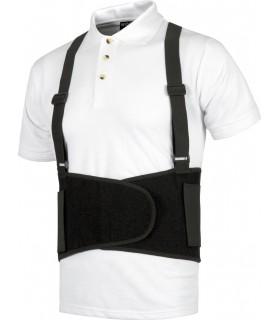 Comprar Cinturón Lumbar WFA302 con tirantes regulables. Tensor elástico. Workteam