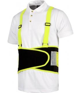 Comprar Cinturón Lumbar WFA305 de alta visibilidad con tirantes regulables. Tensor elástico. Workteam