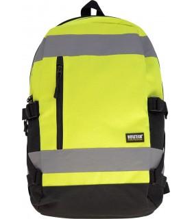 Comprar Mochila WFA401 de alta visibilidad con capacidad para 25L. Multibolsillos. Workteam