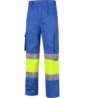 Comprar Pantalón C4018 recto, multibolsillos. Elástico en cintura