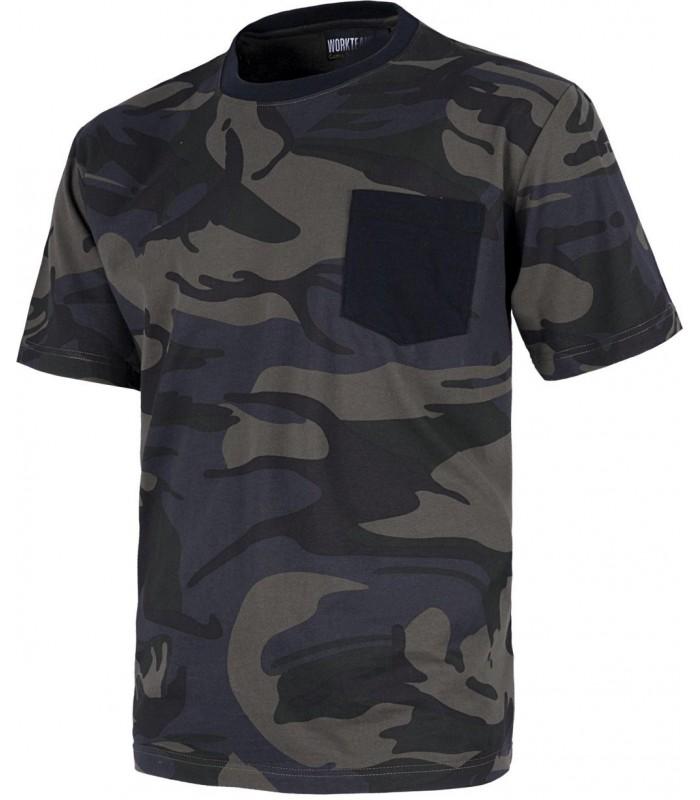 6aa37adaad6 Camiseta s8520. manga corta. camuflaje. workteam - Ropa Laboral