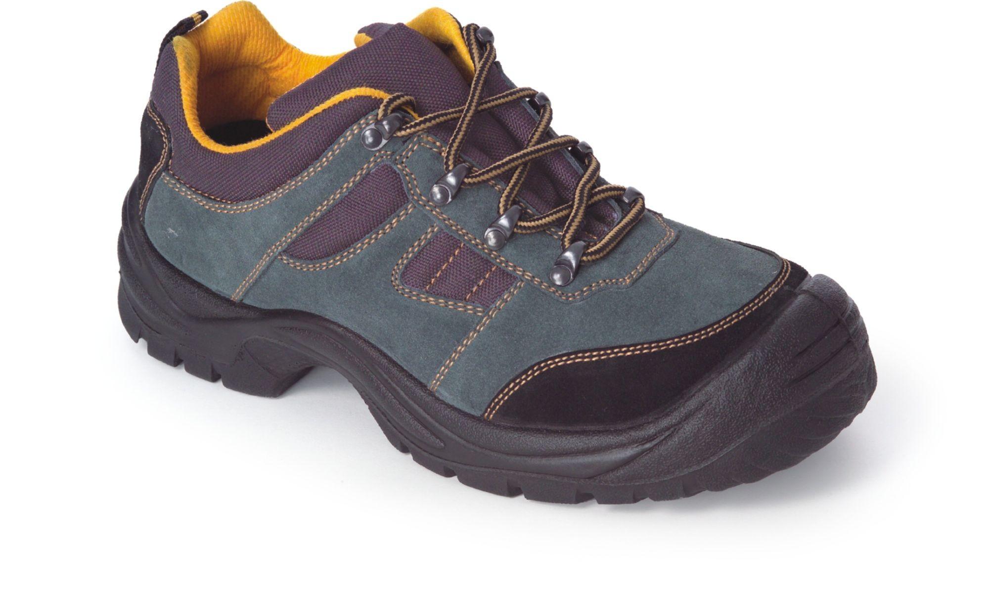 Work Team Zapato de Piel hidrofugado con Cordones. Suela PU bidensidad. Puntera y Plantilla de ACERO. Hombre Negro 42 5V2ACo5I