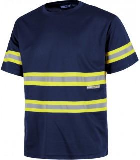Comprar Camiseta C3936 alta visibilidad. Manga corta Workteam