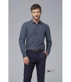 Comprar Camisa BARNET MEN 01428 de manga larga. SOL´S