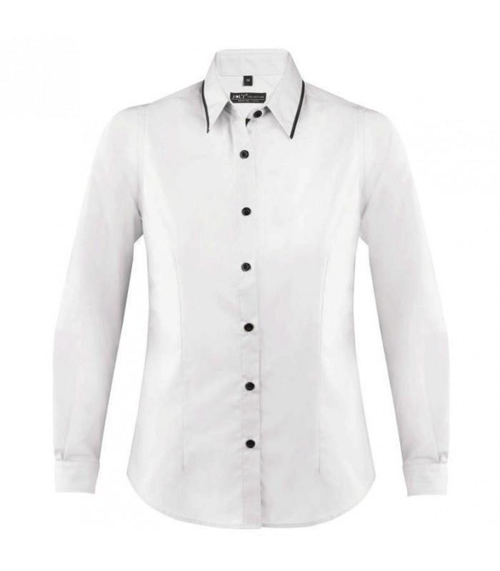 Camisa BAXTER WOMEN 00569 de manga larga. SOL´S